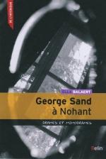Balaert- George Sand à Nohant, drames et mimodrames