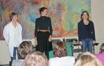 Chloé Galibert-Laîné, Ludivine Bernazzani, Camille Dagen
