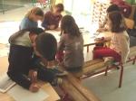 Ateliers intergénérationnels, côté enfants