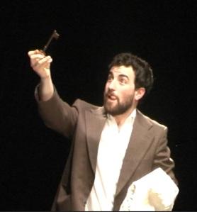 Olivier Courtemanche dans le jeu de clés, d'Ella Balaert (4)