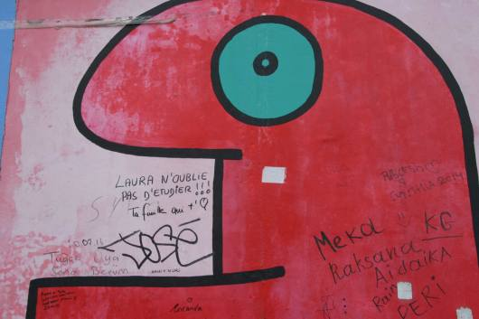 11.Inscription sur Thierry Noir